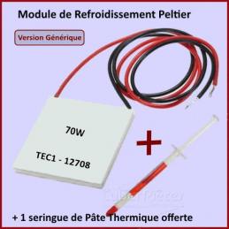 Peltier de refroidissement 70w TEC1-12708 GA-019880