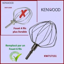 Fouet 6 fils épais Kenwood Chef KW717151 CYB-266093