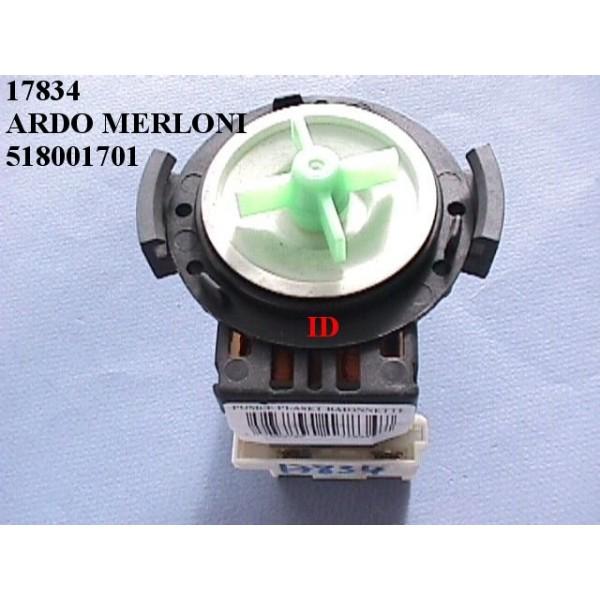 Pompe Plaset Ardo Merloni 518001701