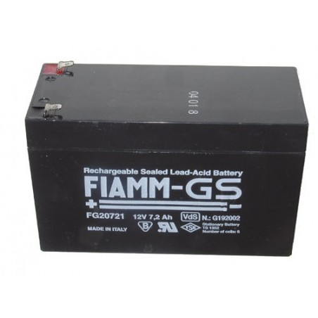 Batterie Fiam 12v 7,2ah