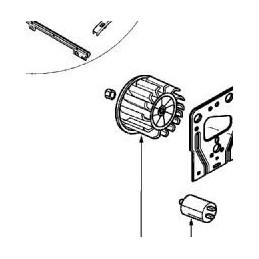 Turbine Moteur + Ecrou
