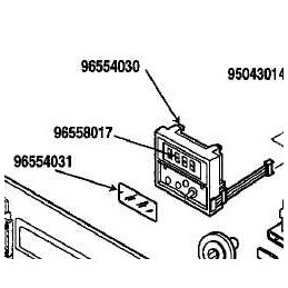 Horloge Programmateur 92x4459