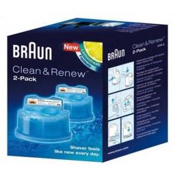 Cartouche Recharge CCR2 Braun Gel Nettoyant X2 - 65331707 CYB-035903