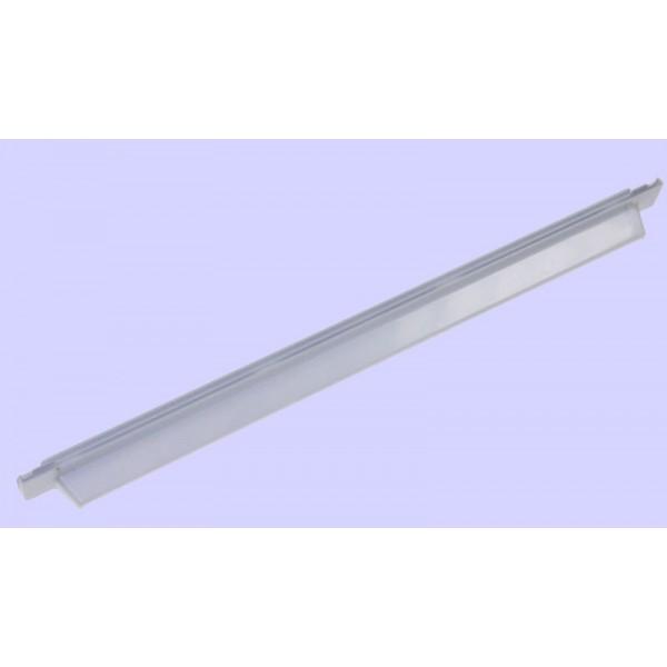 Profil posterieur blanc de clayette en verre C00094447